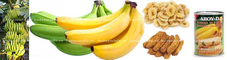 бананы для банановой каши